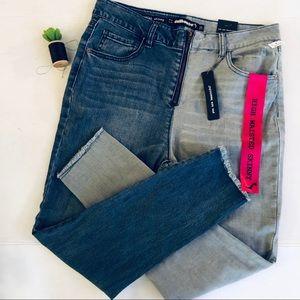 dollhouse high waist skinny jeans sz 15 NWT
